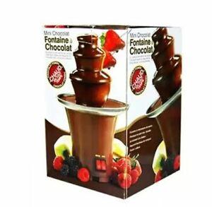 Mini fontaine à chocolat en forme de Fondue