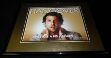 The Hangover Bradley Cooper Framed 11x14 Poster Display