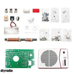 Tecsun 2P3 530-1620kHz Radio DIY Kit AM MW Radio Receiver Unassembled BG7ICA