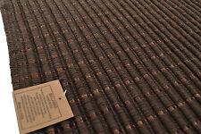 Marron chocolat tapis/tapis de bain coton/viscose 115cm x 70cm lavable en machine