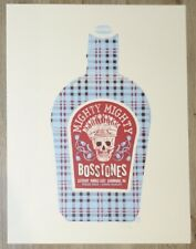 2007 Mighty Mighty Bosstones - Cambridge Silkscreen Concert Poster by Methane