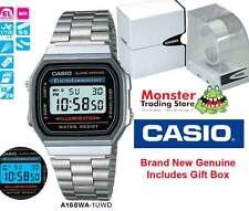 Casio Watch 80's Vintage Retro A168wa-1 A168wa A168