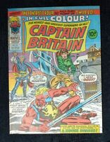CAPTAIN BRITAIN 10 * High Grade*  Marvel Comics 1976 10p