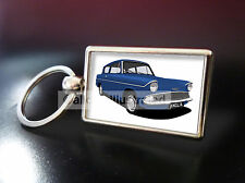 FORD ANGLIA METAL KEY RING. CHOOSE YOUR CAR COLOUR.