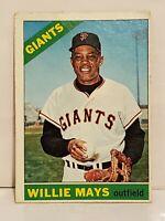 1966 Topps Willie Mays #1 Baseball Card