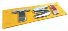 VW TSI Schriftzug Emblem Logo Schriftzug selbstklebend 5G0853675A ROT