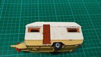 Vintage 1978 Matchbox SuperKings K-69 Europa Caravan Only Touring Trailer Toy