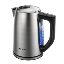 New listing Miroco 17Lteakettle Stainless Steel 1.7L Bpa-Free 1500W Electric Kettle