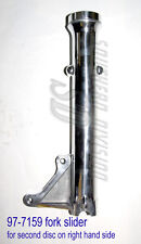 Triumph 97-7159 fork slider OIF for twin disc right hand for 2 caliper Tauchrohr