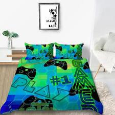 New ListingMilsleep 2020 Bedding Sets 3D Game Unique Design Green Duvet Cover For Boys