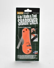 AccuSharp 4 in 1 Knife & Tool Sharpener 028 Coarse Carbides & Fine Ceramic Rods