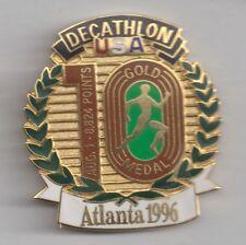 1996 Atlanta Olympic Decathlon Pin USA wins Gold Medal Limited Edition 1996