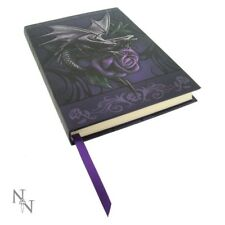 Magical Dragon and Purple Rose Anne Stokes Art Hard Cover Journal Collection