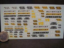 DECALS 1/43 LOGOS FIAT OLIO - T286