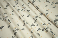 Moda White Christmas metallicTree graphit metall 1651-12M by zen chic 0,5m