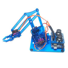 Mearm DIY 4DOF Arduino Robot Arm 4 Axis Rotating Kit With Joystick Button Contro