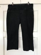 "Womens STRETCH KATIES ""PULL ON"" CROP JEANS SIZE 14"