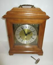 German Quarter Hour Westminster Chime Carriage Bracket Clock 8-day, Key wind