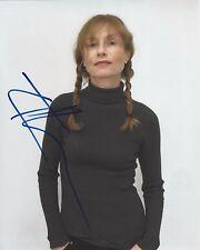 Isabelle Huppert ++ Autogramm ++ Die Nonne ++ Die Klavierspielerin
