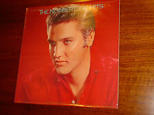 ELVIS PRESLEY VINYL - THE 18 NUMBER ONE HITS * APL1 6028 RCA COMMEM ISSUE 1987