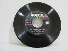 """45 RECORD 7"""" SLIM WHITMAN - WHEN MY BLUE MOON TURNS TO GOLD   EP COPY"""