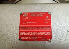CROUSE HINDS GUB-619 Class I, DIV 1 Explosion Proof Box or Enclosure for Instrum