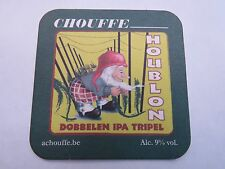 Beer Coaster: La Chouffe Brewing ~ Chouffe Houblon Dobbelen IPA Tripel ~ BELGIUM