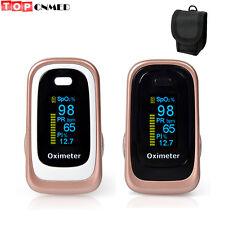 Pulse Oximeter SPO2 PR PI ODI*4 Sleep Monitor 8 hours Data Recorder+Bag/Case