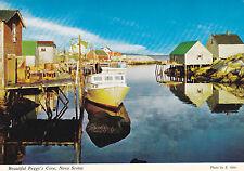 "*Canada Postcard-""Beautiful Peggy's Cove Nova Scotia"" -Ocean Playground- (U2-78)"
