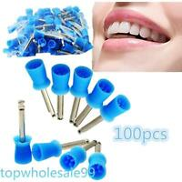 FREESHIP 100 PCS Dental Polishing Polish Prophy Cup Brush 4 Webbed  Latch TypeGE