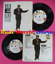 LP 45 7'' BEN E KING Save the last dance for me 1987 uk MANHATTAN no cd mc dvd