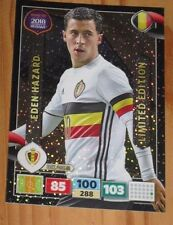"XXL Limited Edition Card PANINI ""EDEN HAZARD"" Belgium Red Devil RTWC 2018 Russia"
