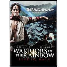 John Woo's Warriors of the Rainbow Seediq Bale DVD -Taiwan Historical Battle