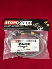 STOPTECH STAINLESS STEEL FRONT BRAKE LINE 02-06 ACURA RSX 02-05 Civic  950.40003