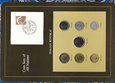 Coin Sets of All Nations Italy 1981-1984 UNC all 1983 10 Lire 1984 50 Lire 1981