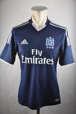 HSV Hamburg SV Trikot 125 Jahre Gr. S 2012-13 blau Adidas Shirt Fly Emirates