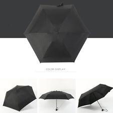 Mini Pocket Umbrella Nylon Fabric Fold Umbrella Anti-Uv Waterproof Travel Rain