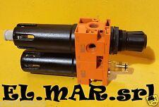 """Riduttore Pressione 1/4"""" F Lubrificatore Filtro X COMPRESSORE aria compressa"""