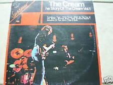 CREAM Story of The Cream ITALIAN MISPRINT import album