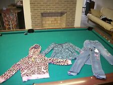 Lot of 2 Girls Jeans, Hannah Montana, Long Sleeve Shirt & Jacket Size 6