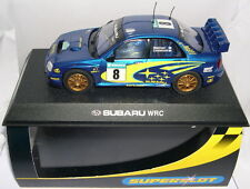 SUPERSLOT H2491 SUBARU IMPREZA WRC #8  2003  MAKINEN-LINDSTROM  SCALEXTRIC UK MB