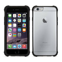 "GRIFFIN SURVIVOR CORE 4.7"" IPHONE 6 6S CLEAR TOUGH SLIM CASE - BLACK - GB38865"