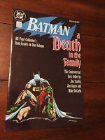 BATMAN: A Death in the Family DC COMICS Jim Starlin, Jim Aparo TPB 1st Print NM