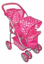 Deluxe Dolls Double Reverse Pushchair Buggy *Brand New*