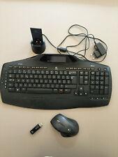 Logitech clavier souris sans Fil Bureau MX5500 complet en parfait état de marche