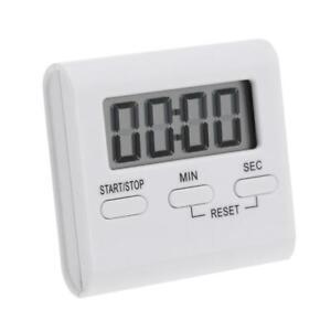 Handy LCD Digital Table Magnet Alarm Clock DIY Kitchen Oven Cooking Timer