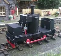 De Winton 0-4-0 Vertical Boiler 32mm gauge kit pdf models 16mm scale part built