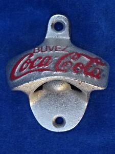 DECAPSULEUR MURAL / Wall bottle opener - COCA-COLA - TOP+++ !