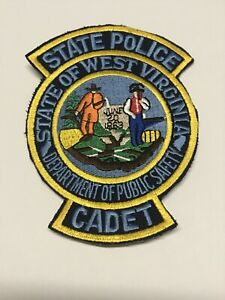 Vintage West Virginia State Police Cadet Shoulder Patch