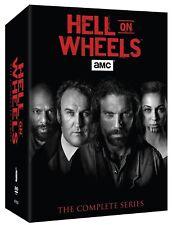HELL ON WHEELS 1-5 (2011-2016): COMPLETE Western TV Season Series -  NEW DVD R1